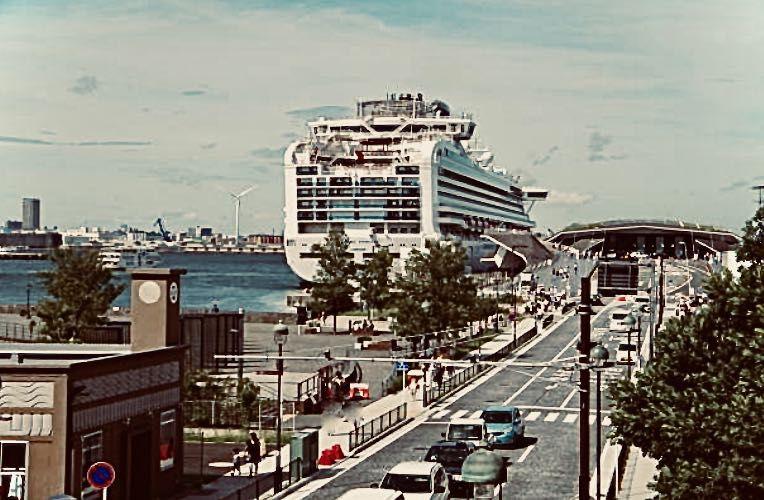 大さん橋、客船ターミナル