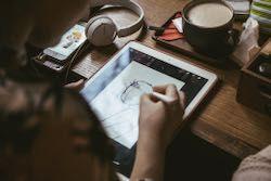 tablet-タッチペンでお絵かきを