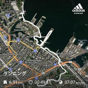 横浜みなとみらいから山手エリアを網羅できるおすすめランニングコース【片道6.5kmで黄金スポットを網羅!】の画像