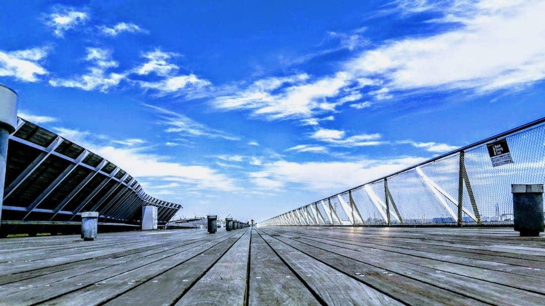 横浜おすすめジョギングコース、大さん橋の画像