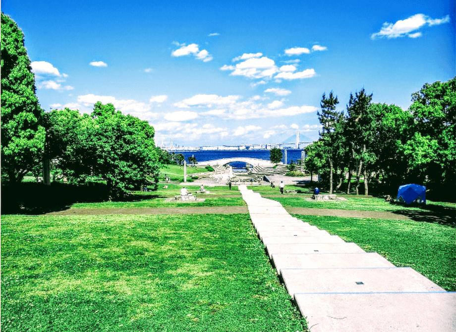 臨港パークの眺めの画像