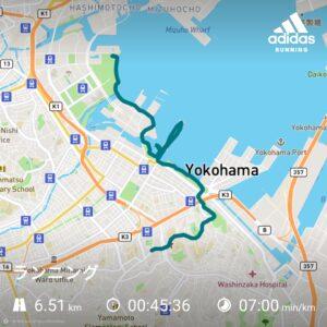 横浜みなとみらいから山手エリアを網羅できるおすすめランニングコース【片道6.5kmで黄金スポットを網羅!】