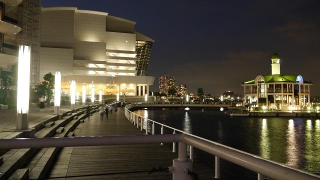 ぷかり桟橋の夜景1